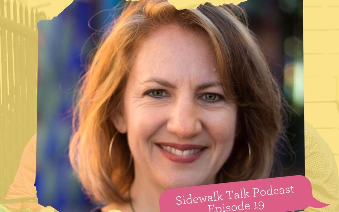 Adriana @ Sidewalk Talk podcast