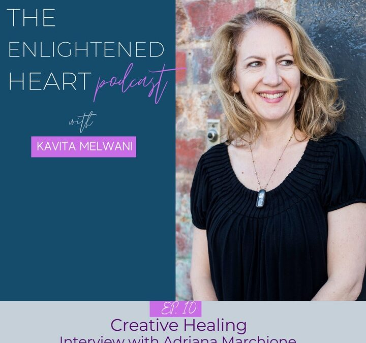 The Enlightened Heart Podcast with Kavita Melwani